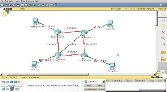 Konfigurasi Static Router di Packet Tracer