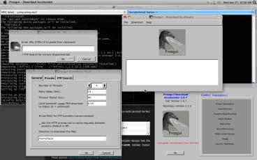 Downloader Prozgui keren di UBUNTU